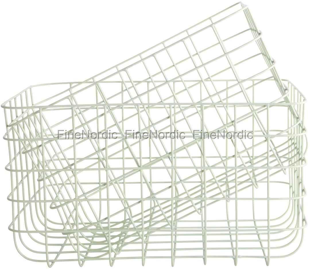 house doctor korb simply green h 20 cm 2er set online kaufen. Black Bedroom Furniture Sets. Home Design Ideas