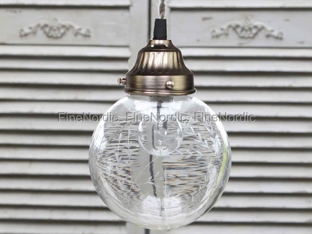 Kronleuchter Glaskugeln ~ Orion kronleuchter milchglas glaskugeln leuchter messing in