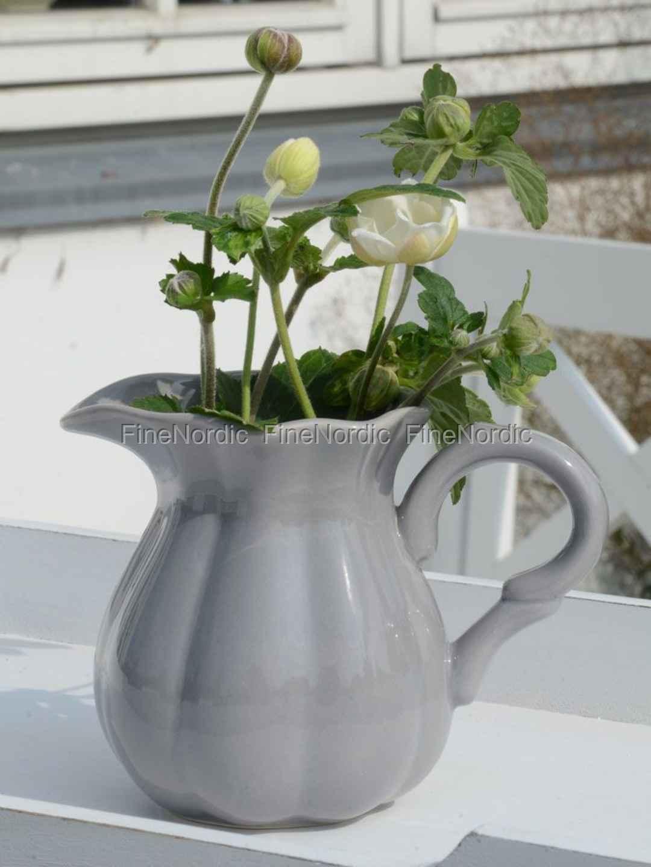 ib laursen geschirr kleine kanne aus keramik grau. Black Bedroom Furniture Sets. Home Design Ideas