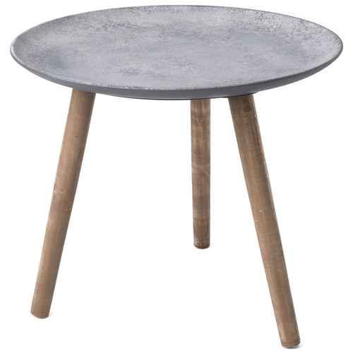 bahne tisch holz schwarz 54 5 cm. Black Bedroom Furniture Sets. Home Design Ideas