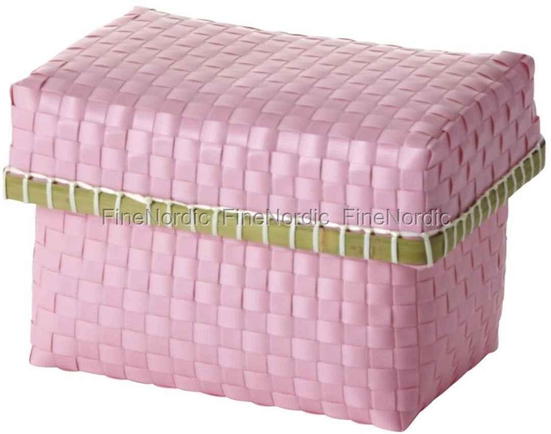 Smalle Lange Kast : Rice aufbewahrungskasten aus kunststoff rosa small
