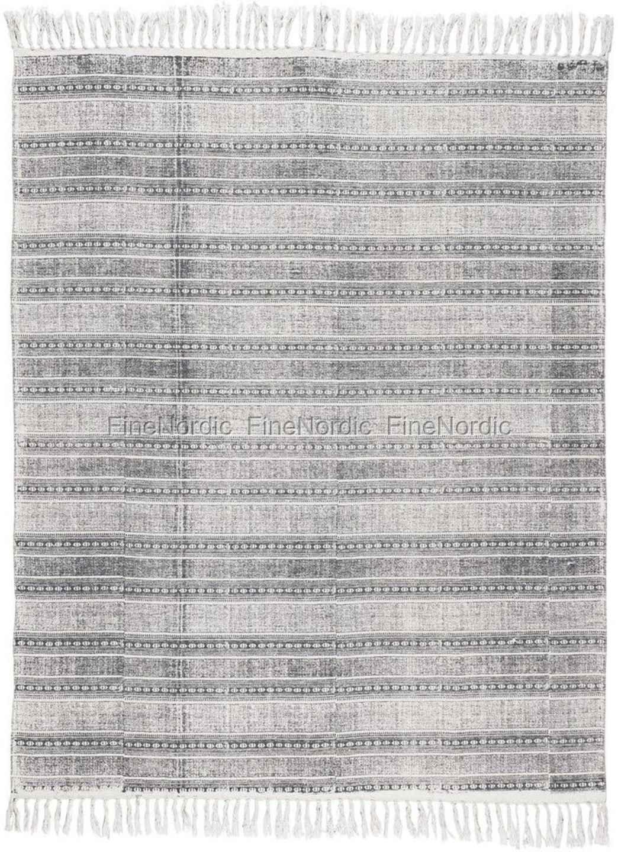 Ib Laursen Teppich Dunkelgrau 80 X 160 Cm