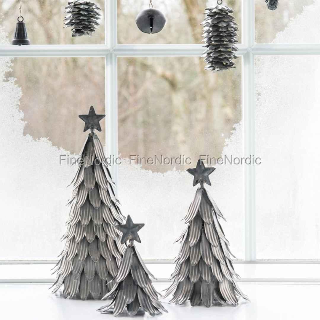 Tannenbaum Groß.Ib Laursen Tannenbaum Mit Sterne Metall Groß