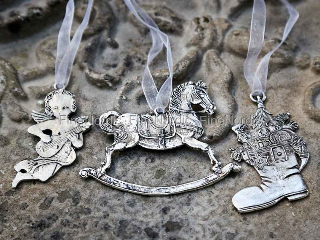 Chic Antique Weihnachtsschmuck Deko-Hänger Antik Silber