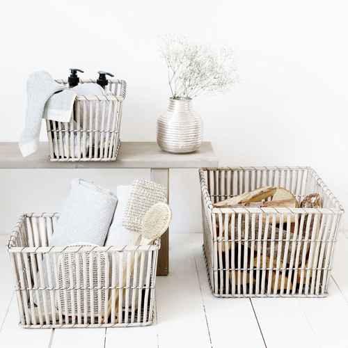 house doctor korb nest rechteckig medium. Black Bedroom Furniture Sets. Home Design Ideas