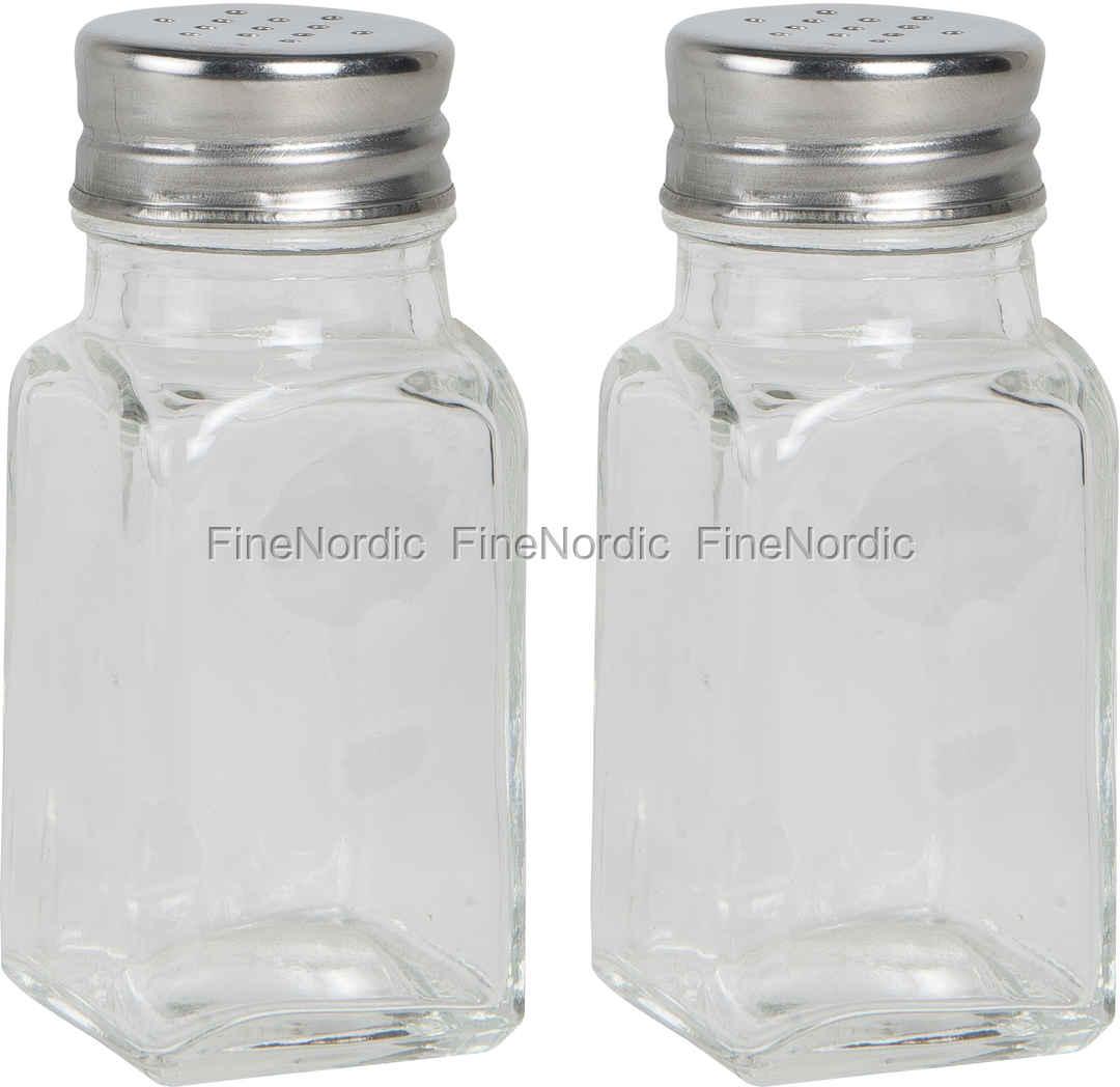 Ib Laursen Salz/Pfefferstreuer Glas Set