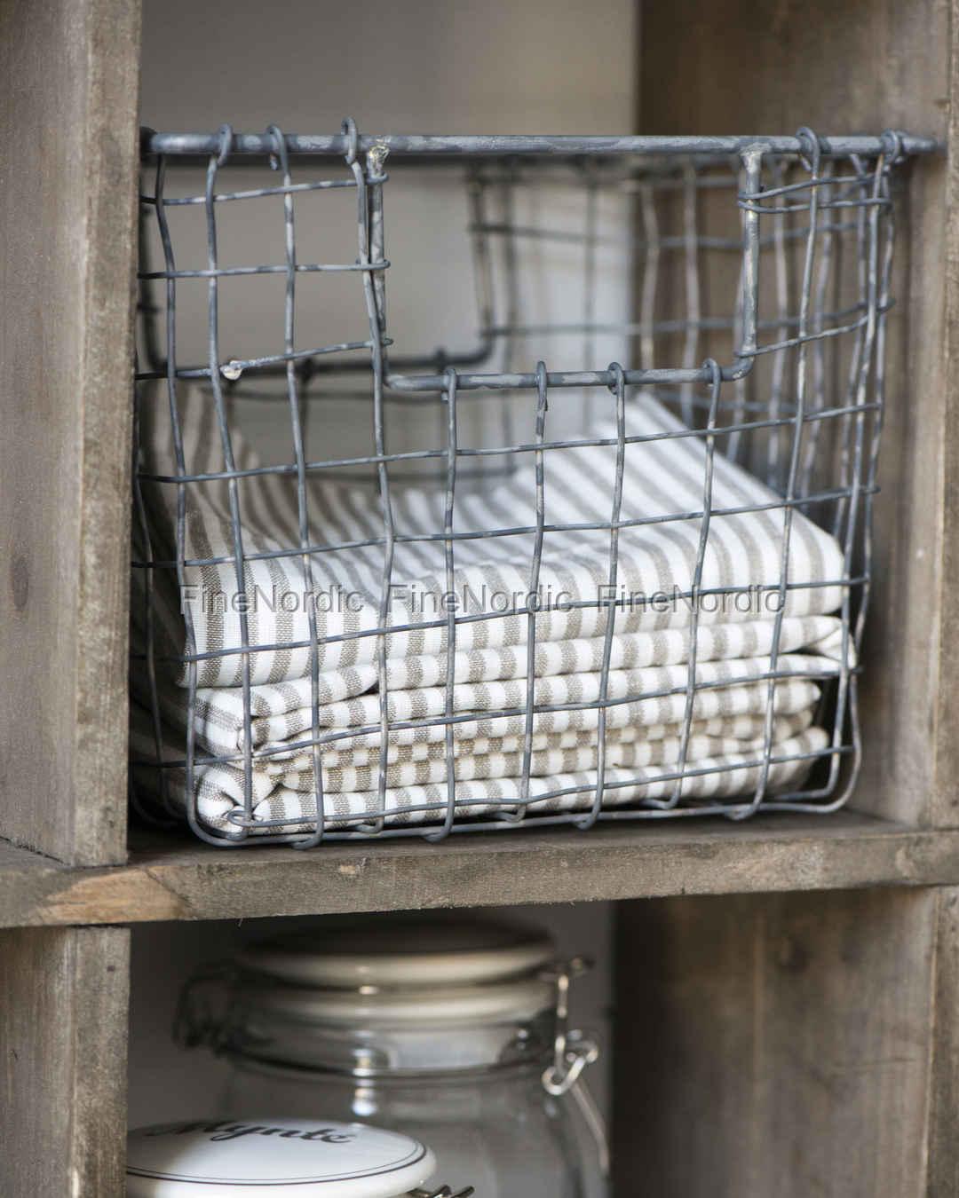 ib laursen korb draht offen henkel. Black Bedroom Furniture Sets. Home Design Ideas