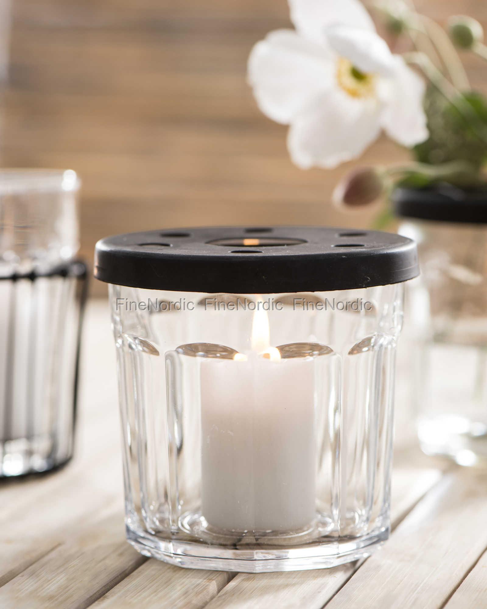 ib laursen deckel mit l chern f r marmeladenglas factory schwarz. Black Bedroom Furniture Sets. Home Design Ideas