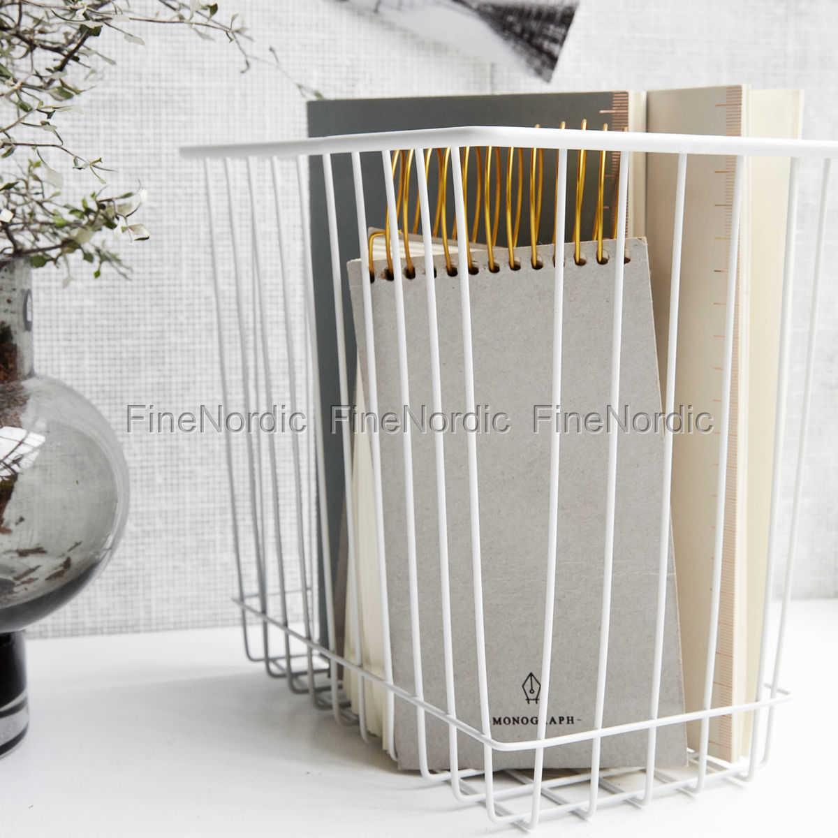 house doctor korb stak wei 22x14 cm. Black Bedroom Furniture Sets. Home Design Ideas