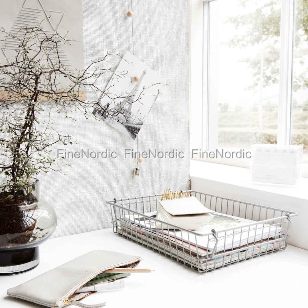 house doctor kurb stak grau 34x27 cm. Black Bedroom Furniture Sets. Home Design Ideas