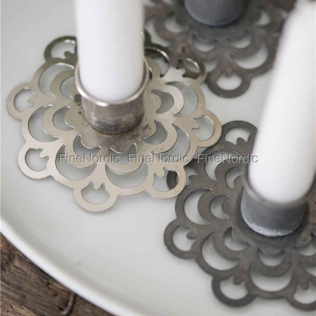 ib laursen kerzenhalter blumenmuster passend f r 5932 00. Black Bedroom Furniture Sets. Home Design Ideas