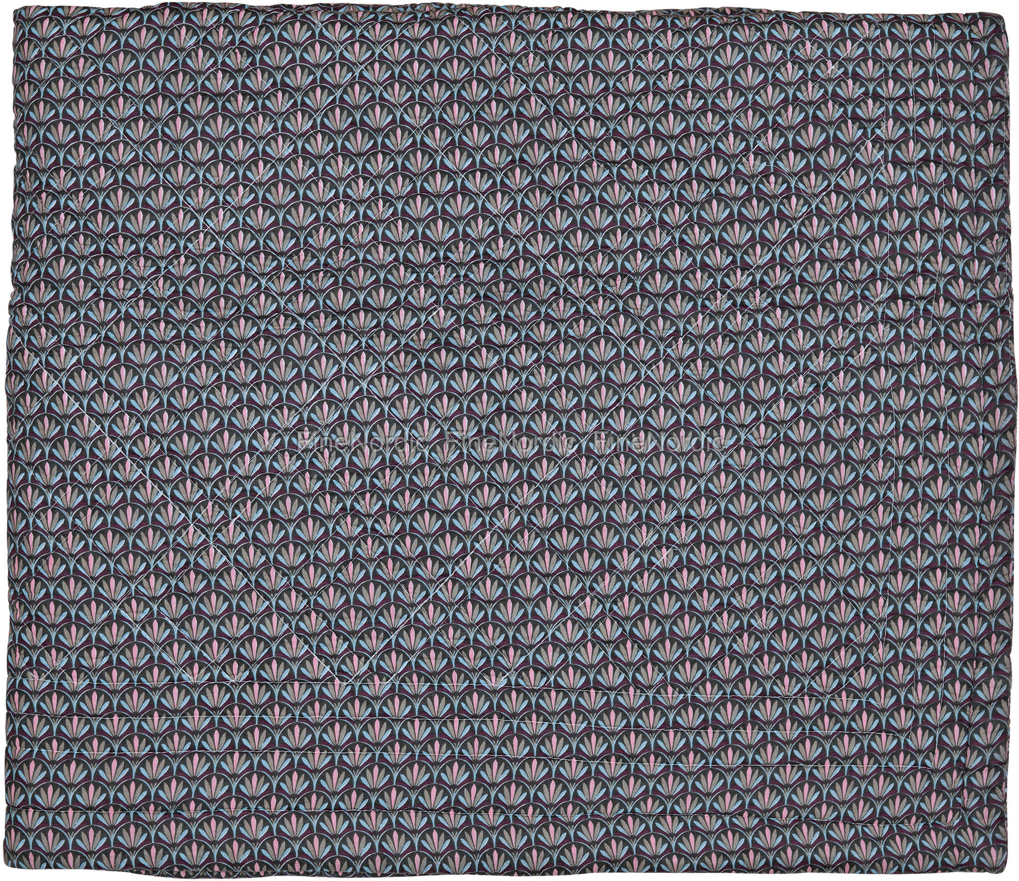 greengate tagesdecke quilt bed cover victoria dark grey 140 x 220 cm. Black Bedroom Furniture Sets. Home Design Ideas