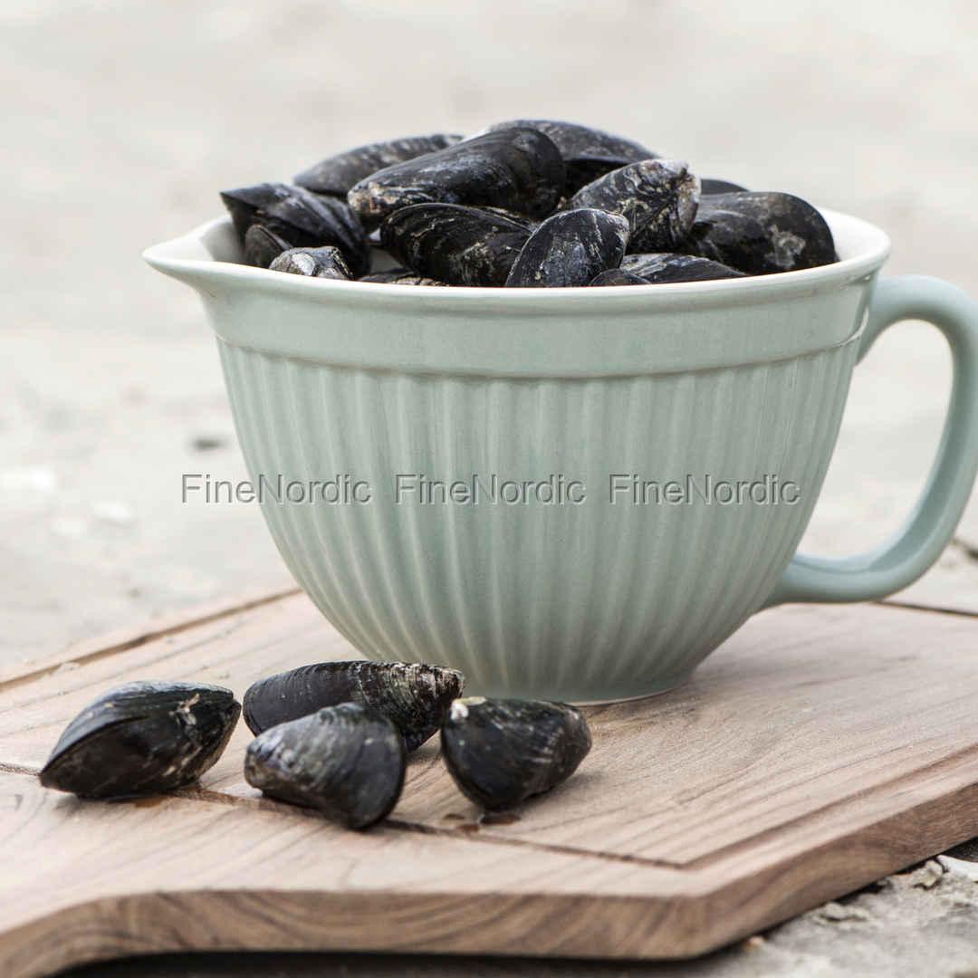 2075-10 Rührschüssel Mynte Keramik Green Tee 1,5l Schüssel Grün Ib Laursen