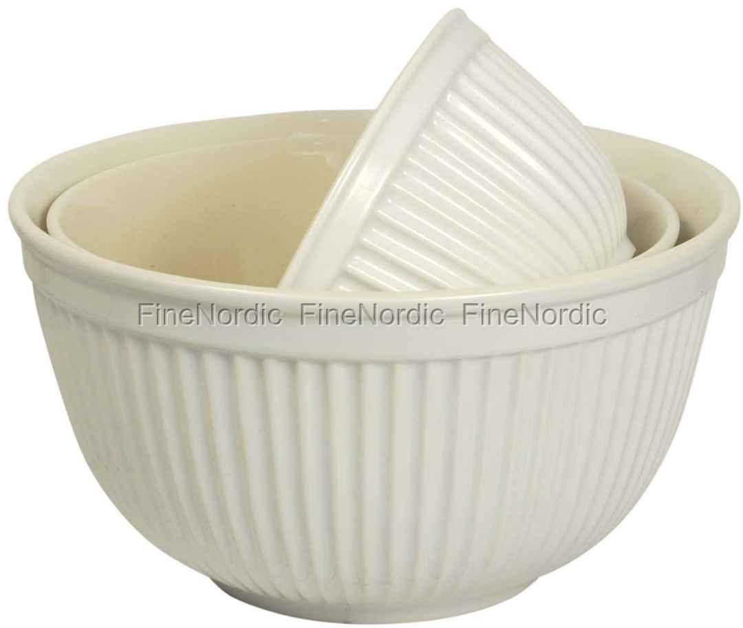 ib laursen geschirr 3 tlg sch sselset aus keramik mynte pure white. Black Bedroom Furniture Sets. Home Design Ideas