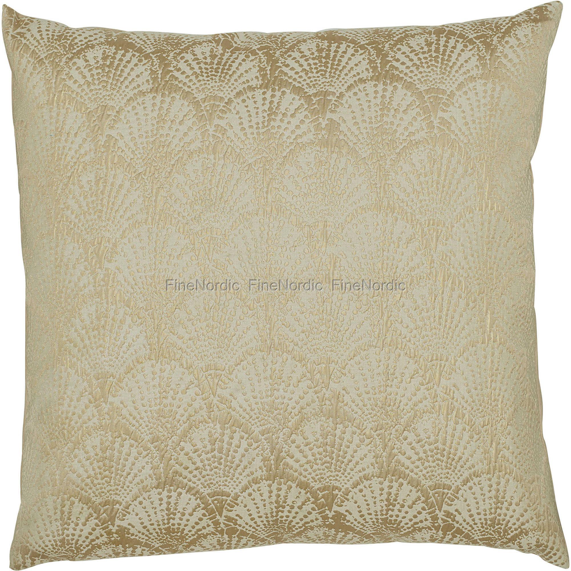 greengate gatenoir kissenh lle cushion art deco gold with white 50 x 50 cm. Black Bedroom Furniture Sets. Home Design Ideas