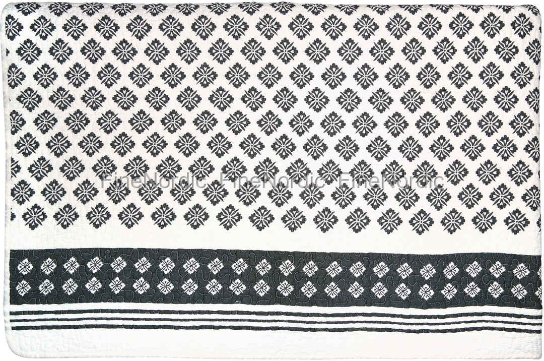 greengate tagesdecke quilt jackie dark grey 220 x 140 cm. Black Bedroom Furniture Sets. Home Design Ideas