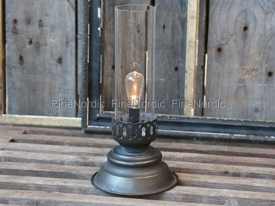 chic antique franz lampe eins gl hbirne antique kohle. Black Bedroom Furniture Sets. Home Design Ideas