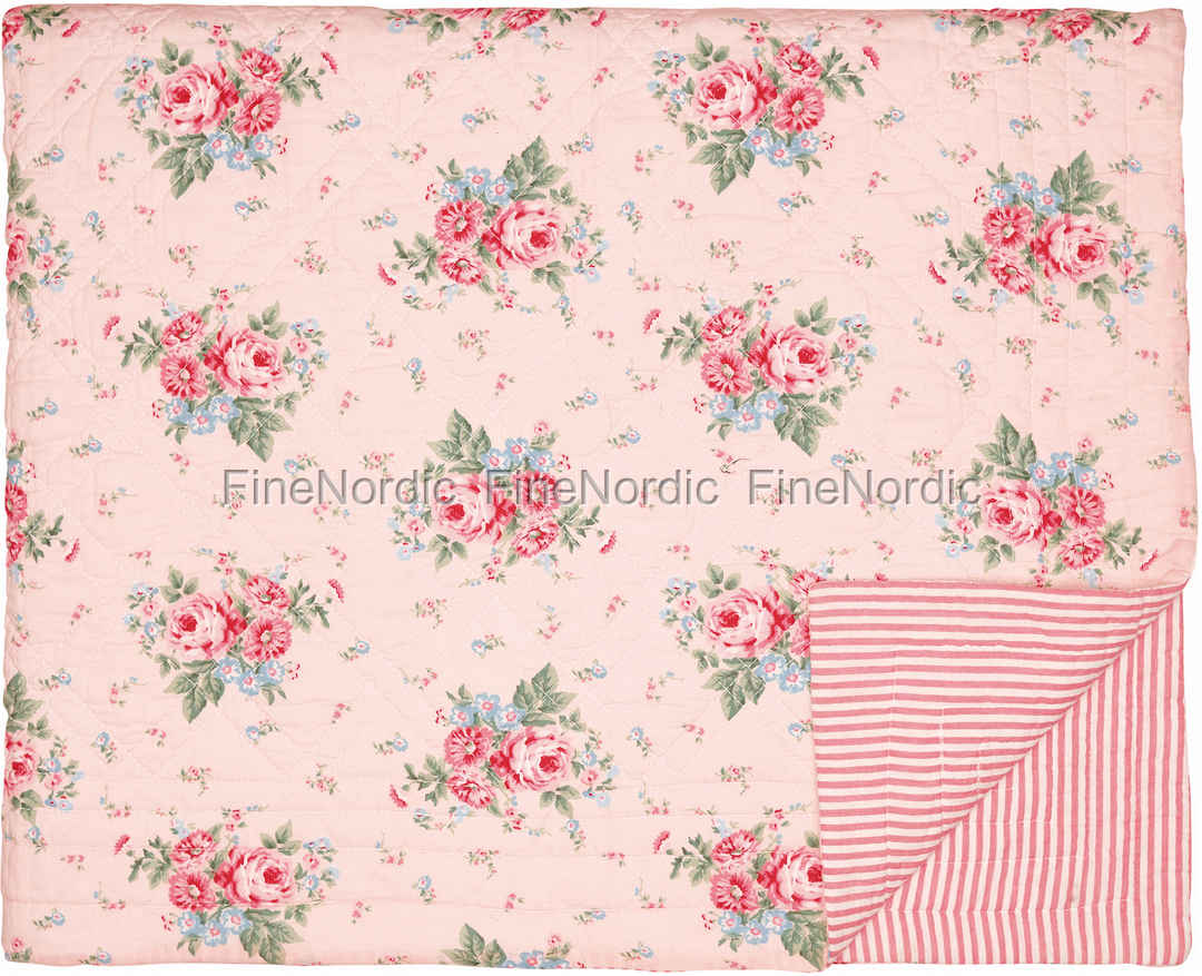 greengate tagesdecke bed cover marley pale pink 220 x 140 cm. Black Bedroom Furniture Sets. Home Design Ideas
