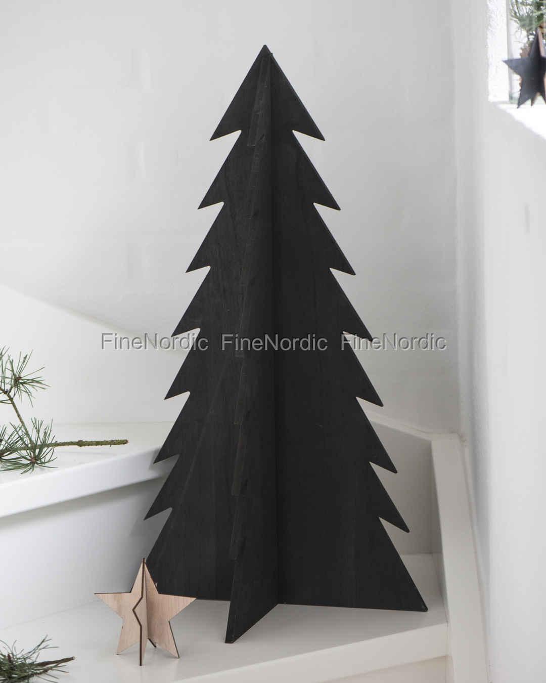 Tannenbaum Groß.Ib Laursen Weihnachtsbaum Gross Stehend Schwarz