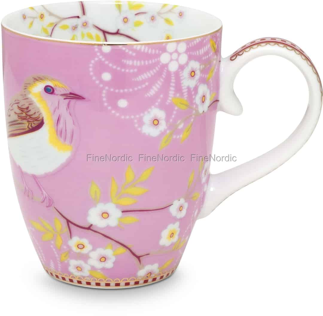 Pip Studio Floral Tasse Groß Early Bird Pink