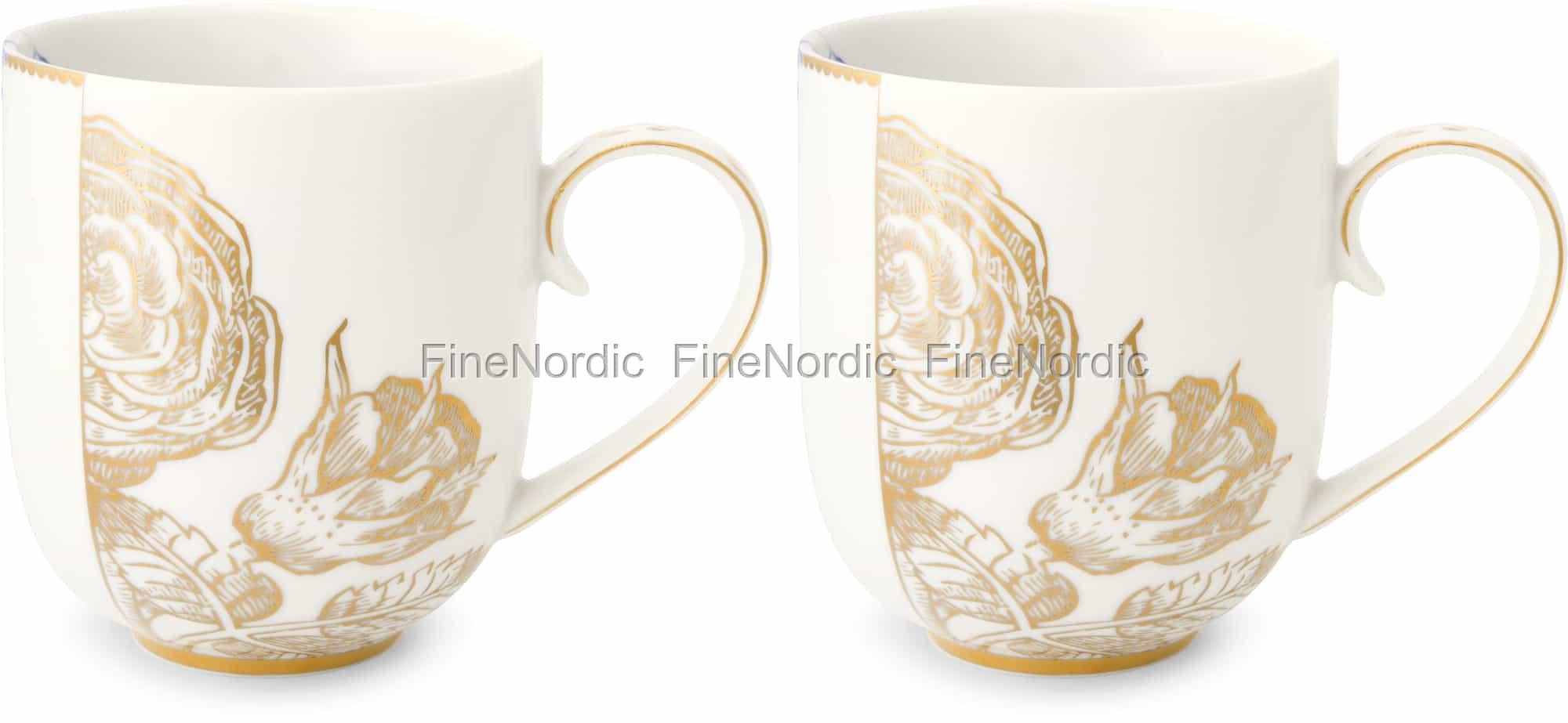 Pip Studio Tassen : pip studio tassen large royal white 2er set ~ Watch28wear.com Haus und Dekorationen