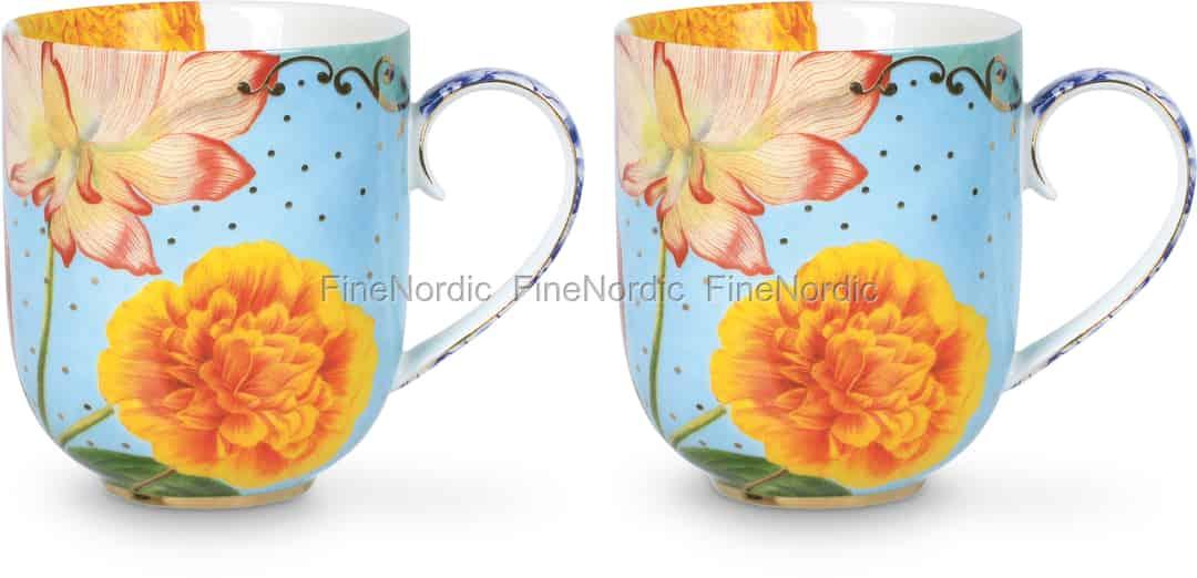 Pip Studio Tassen : pip studio tassen large royal flowers 2er set ~ Watch28wear.com Haus und Dekorationen