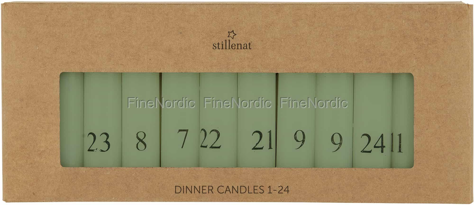 Grün 4171-22 Ib Laursen 10 Kerzen  Farbe