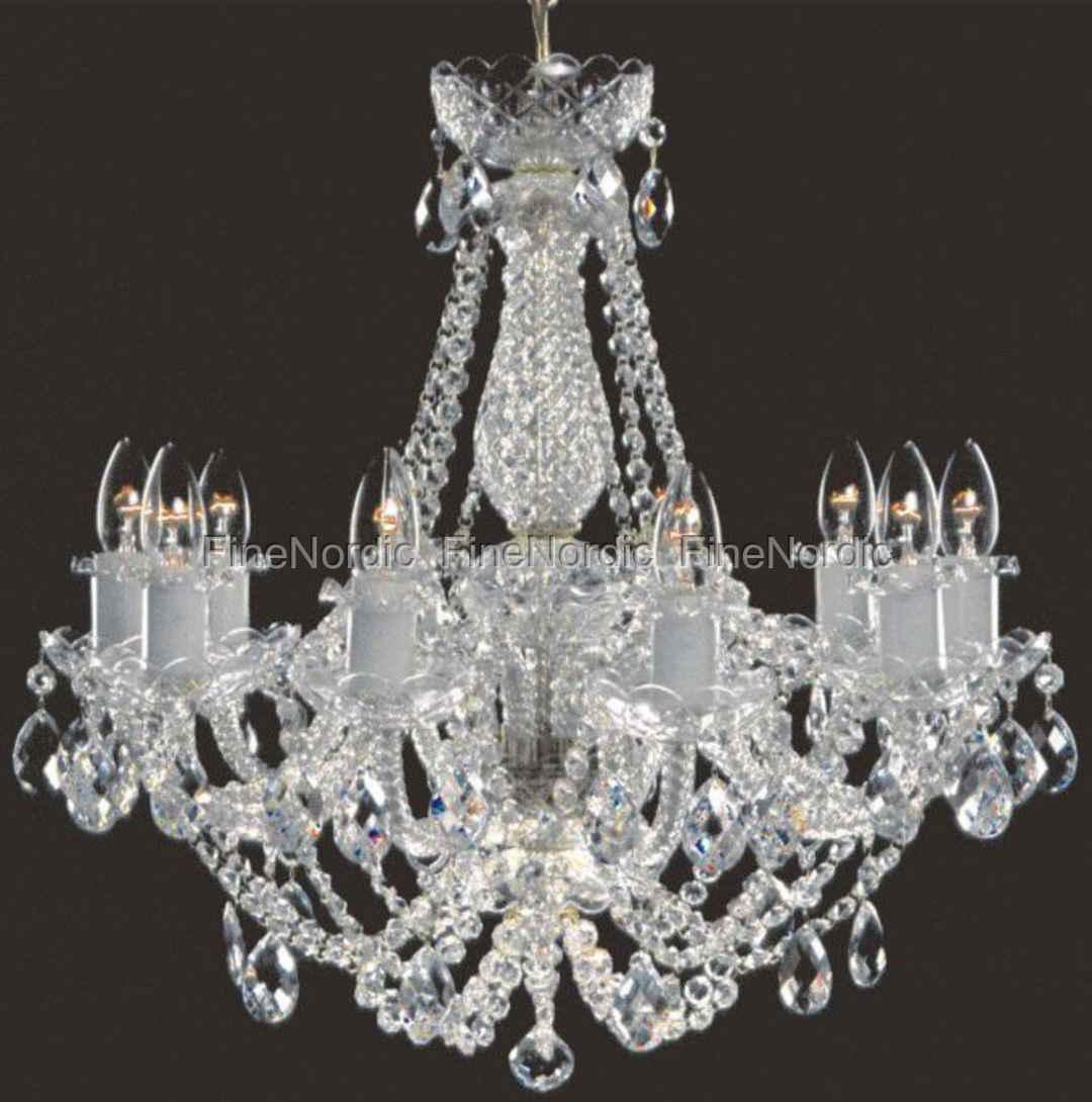 elite bohemia kristall kronleuchter mit zehn armen. Black Bedroom Furniture Sets. Home Design Ideas