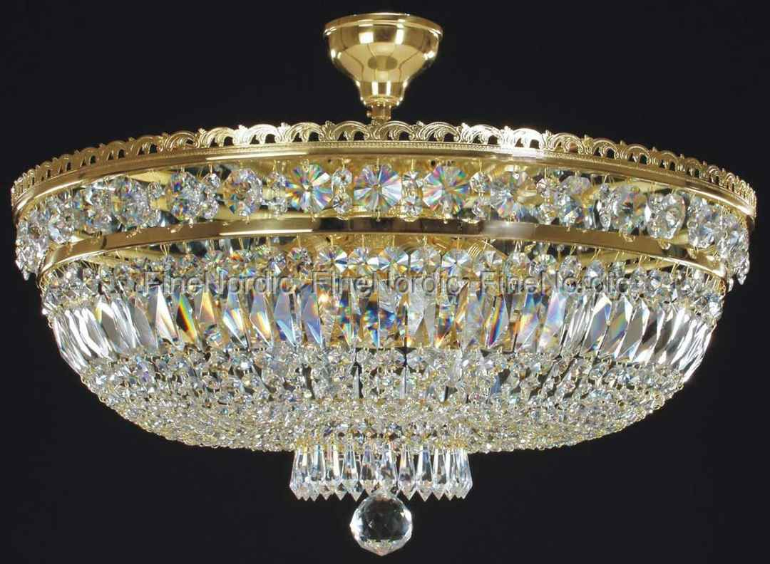 Kronleuchter Klein Kristall ~ Elite bohemia kristall deckenkronleuchter mit sechs leuchten