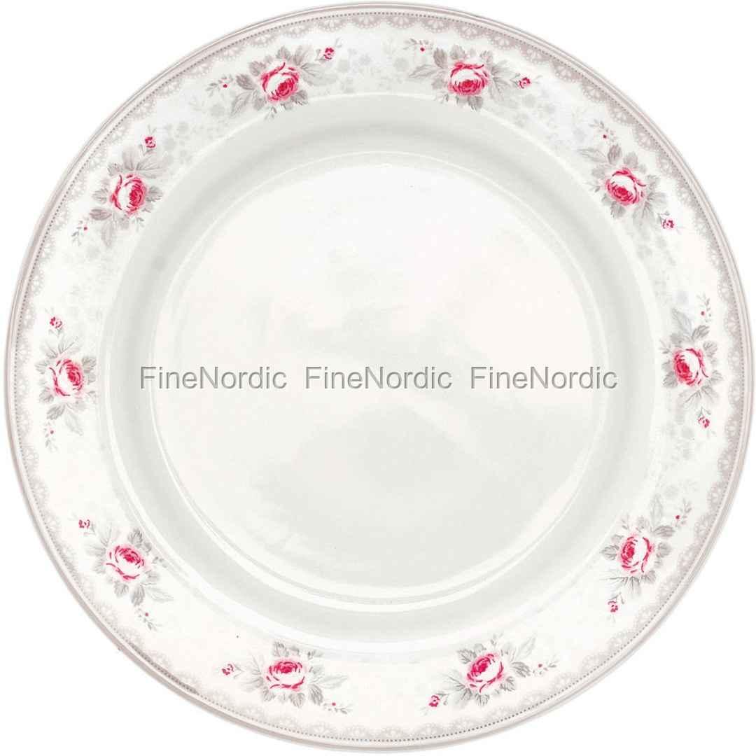 Greengate Teller Dinner Plate Sophie Vintage 25 Cm Green Gate